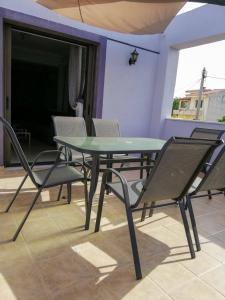A balcony or terrace at Filoxenia