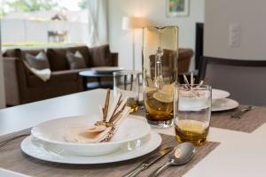 Ein Restaurant oder anderes Speiselokal in der Unterkunft Tertianum Parkresidenz Meilen