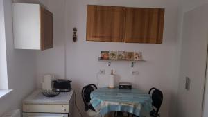 A kitchen or kitchenette at Faleza Nord Sea View Apartment