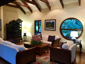 A seating area at janbal retreat