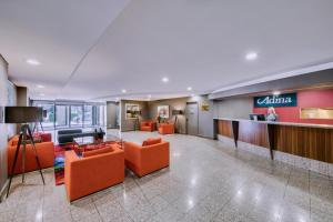 The lobby or reception area at Adina Serviced Apartments Canberra James Court