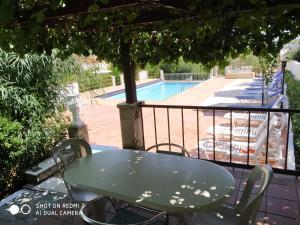 Θέα της πισίνας από το Villas Eva with Panoramic Sea View ή από εκεί κοντά
