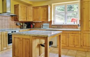 A kitchen or kitchenette at Holiday home Albrechtice