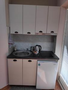 A kitchen or kitchenette at Apartment LAVO Center