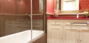A bathroom at Arenal View by Forever Rentals
