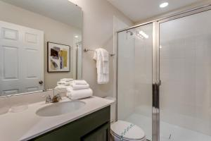 A bathroom at New, Orlando Newest Resort Community Town Home Townhouse