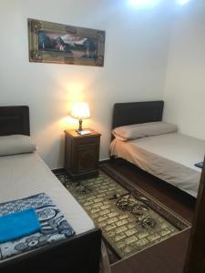 Letto o letti in una camera di Sea View Apartment