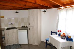 A kitchen or kitchenette at Anemomilos Studios