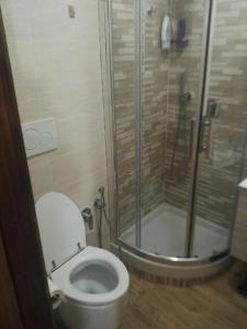 A bathroom at Casa Vincenzina