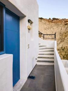 Balcó o terrassa a Pontoria Stegna Studios