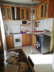 Nhà bếp/bếp nhỏ tại Квартира на сутки, часы