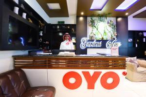 The lobby or reception area at OYO 289 Matal Al Hadaiq