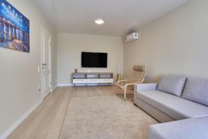 Телевизор и/или развлекательный центр в Tanka Double Room Apartments