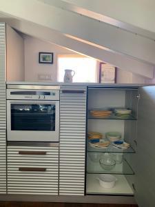 Cucina o angolo cottura di Attic in the heart of the city