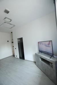 TV a/nebo společenská místnost v ubytování Vescovio Palace Apartment