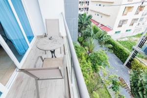 Балкон или терраса в Central Avenue Residences by Pattaya Holiday