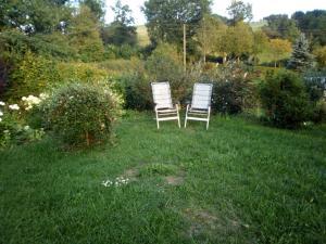 A garden outside Historische Bauernstube