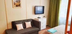 Телевизор и/или развлекательный центр в Studia Business Class