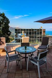 A balcony or terrace at Villa Maremonti