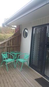 A balcony or terrace at Apartments At Glen Isla