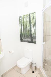 A bathroom at C.A.G - The Cube