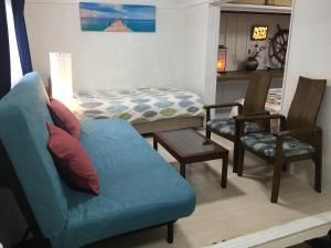 A seating area at The harbor Seafood&Hakone JRsta 2min#Wifi&Max6