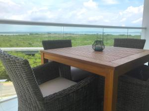 A balcony or terrace at Morros Suites Apartamentos