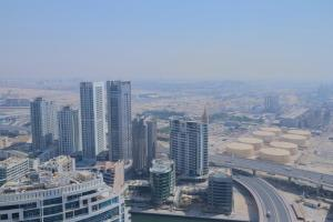 A bird's-eye view of OYO Home 267 2BHK Al Bateen Residences JBR