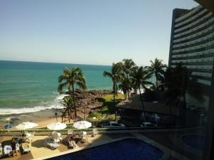 A view of the pool at Apart Hotel em Salvador or nearby