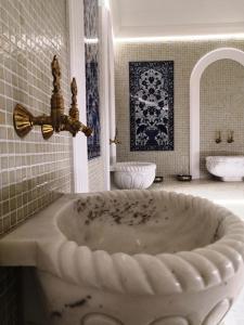 A bathroom at Apartamenty M&M