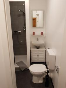Ein Badezimmer in der Unterkunft Apartments Blumenthal