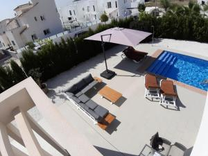 A view of the pool at Villa La Marina or nearby