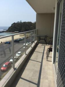 A balcony or terrace at Oceanic Unit 19, 8-12 North Street, Forster