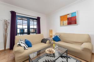 Zona de estar de Apartamento Dunas Famara