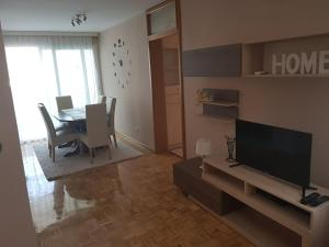 A television and/or entertainment center at Apartment Marija