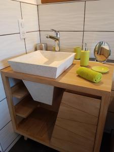 Salle de bains dans l'établissement HippoLits