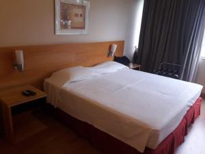 Cama o camas de una habitación en Golden Tulyp - 1088