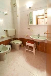 A bathroom at Residenza Le Due Palme