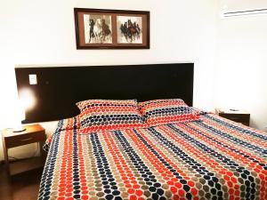 Cama o camas de una habitación en Santiago Town Suites