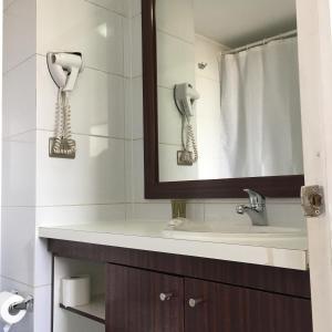 Un baño de Amistar Apartments