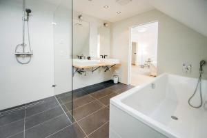 Ein Badezimmer in der Unterkunft Galerie 18 Apartments