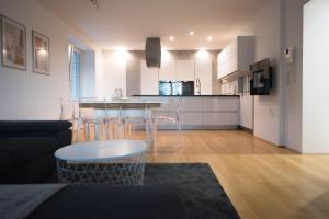 Kuhinja oz. manjša kuhinja v nastanitvi House Tabor