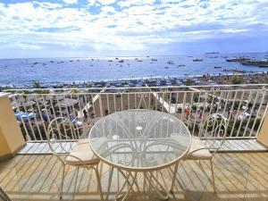 A balcony or terrace at La Caravella Positano