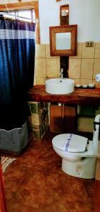 Un baño de Refugios Pisco Elqui