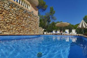 The swimming pool at or near Villa Magdalena Calvia