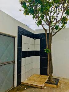 Um banheiro em Casa de Veraneio Ilha de Itamaracá