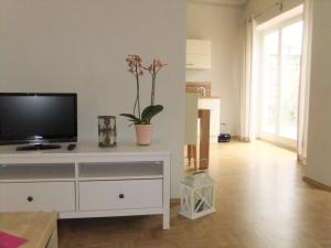 A television and/or entertainment center at Gartenhaus Auguste
