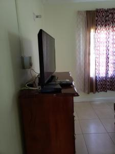 A television and/or entertainment center at Wizzy Apartment