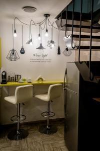 Ein Badezimmer in der Unterkunft Budapest Center Apartments Dave