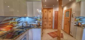 Kuchnia lub aneks kuchenny w obiekcie Rezydencja Tatry - Apartament Chamerion 1